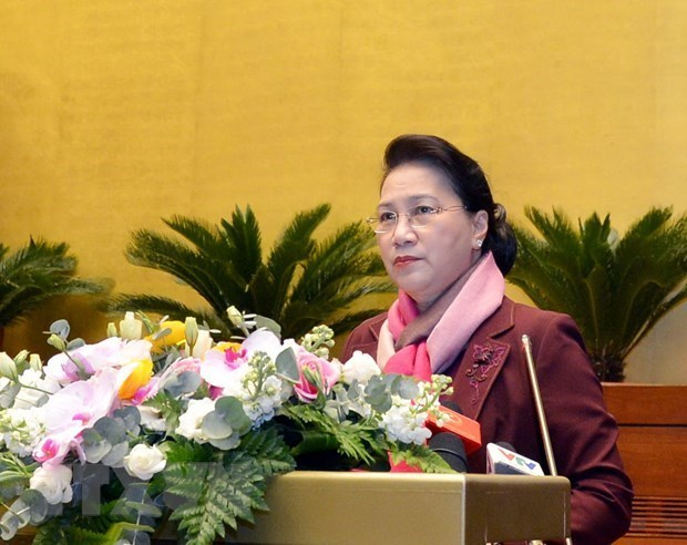 National Assembly NA Standing Committee,NA Chairwoman Nguyen Thi Kim Ngan,administrative units,laws