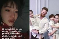 Elly Trần liên tục treo status u ám, ẩn ý chia tay ông xã ngoại quốc?