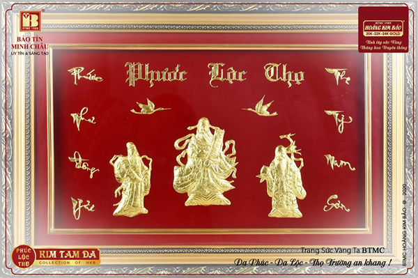 Chọn quà tặng bằng vàng cho năm mới dư dả, may mắn