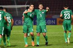 Video bàn thắng U23 Iraq 1-1 U23 Australia