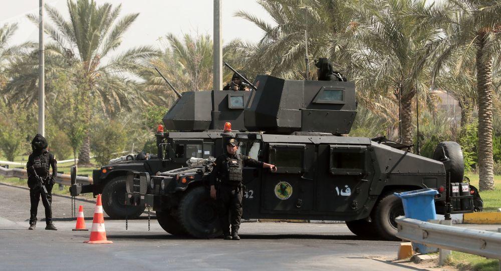 Hai quả tên lửa rơi xuống Vùng Xanh ở thủ đô Iraq