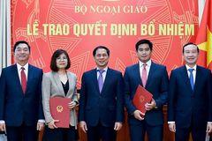 Nhân sự mới Bộ Ngoại giao, Nội vụ, GD&ĐT