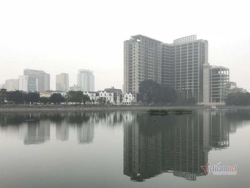 Cao ốc bủa vây 'bịt mặt' hồ Thành Công, doanh nghiệp vẫn đề xuất lấp hồ