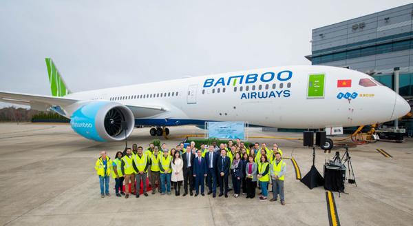Hành trình nửa vòng trái đất gia nhập Bamboo Airways của Boeing 787-9 Dreamliner