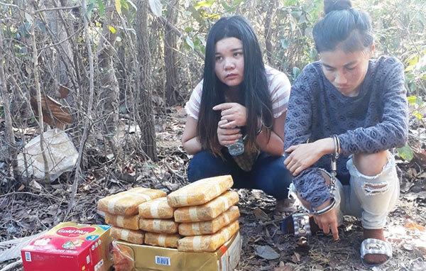 Drug traffickers,Lao drug gang,arrested