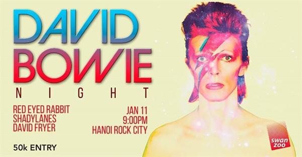 David Bowie Night at Hanoi Rock City