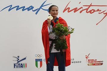 Nghị lực thép của nhà vô địch thế giới Taekwondo Nguyễn Thị Lệ Kim