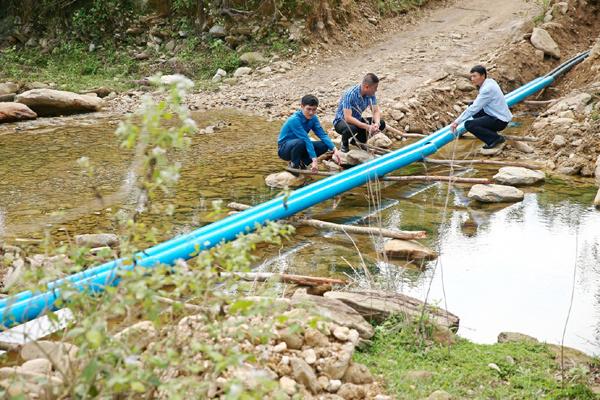 Nước sạch đến với 1200 hộ dân Quảng Kim, Quảng Bình