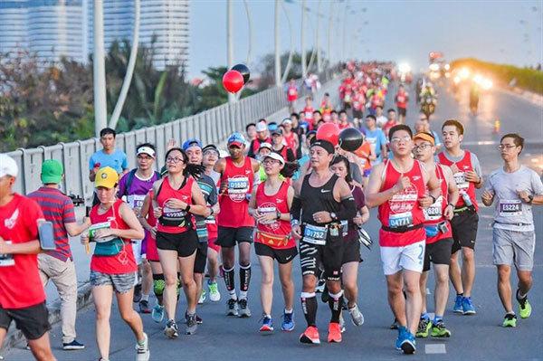 2020 Techcombank HCM City International Marathon,runners