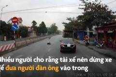 Tài xế hốt hoảng khi thấy người đàn ông nằm giữa đường quốc lộ