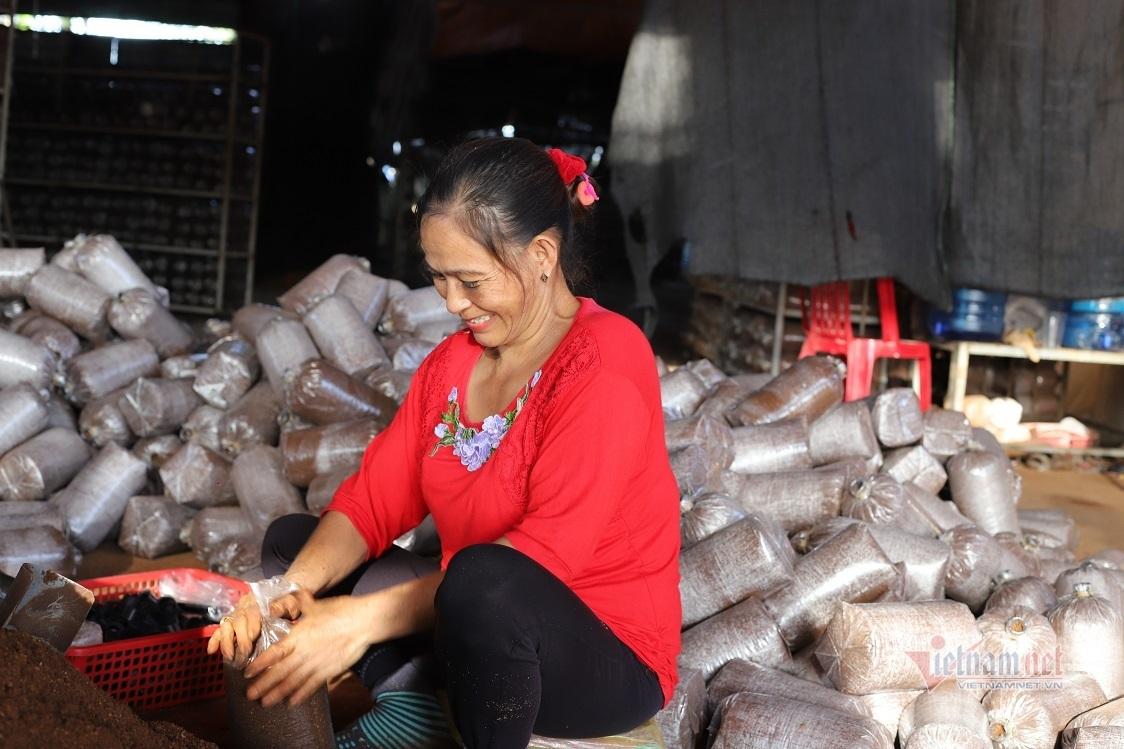 Học nghề trồng nấm, lao động nông thôn ở Đắk Lắk 'đổi đời'