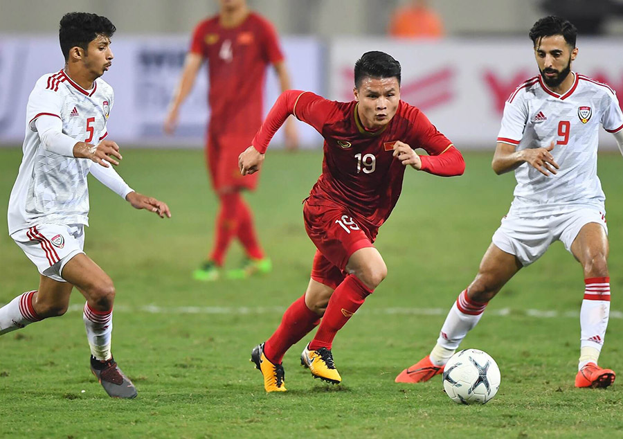 Lịch phát sóng bóng đá hôm nay 10/1: U23 Việt Nam vs U23 UAE