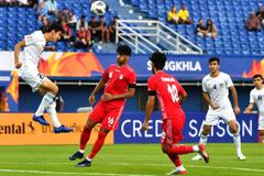 Video bàn thắng U23 Uzbekistan 1-1 U23 Iran