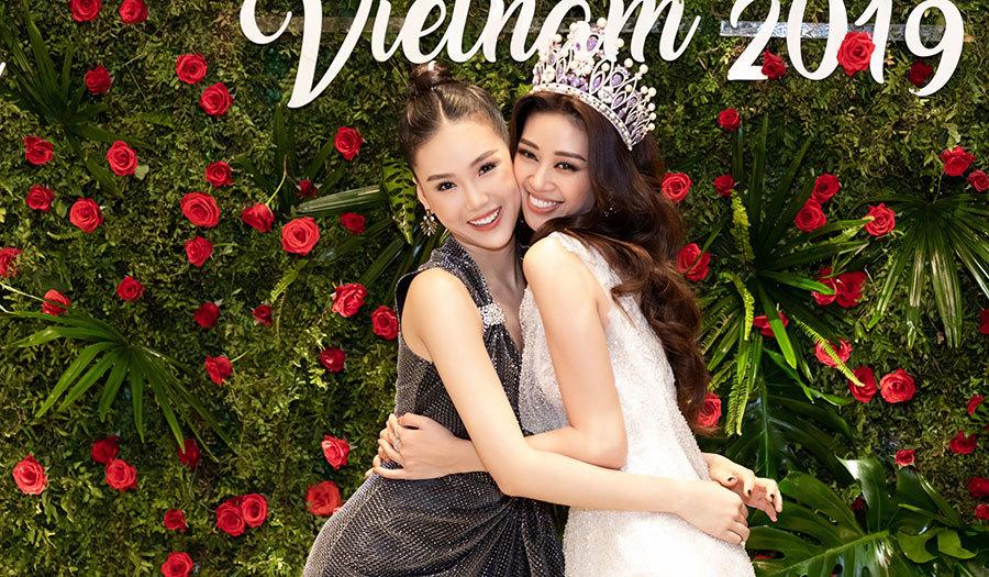 Hoa hậu Khánh Vân đọ dáng với Hương Giang, Quỳnh Hoa