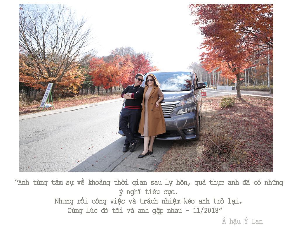 Á hậu doanh nhân Ý Lan: 'Khi quen Chí Trung, tôi không biết anh đã ly hôn nghệ sĩ Ngọc Huyền'