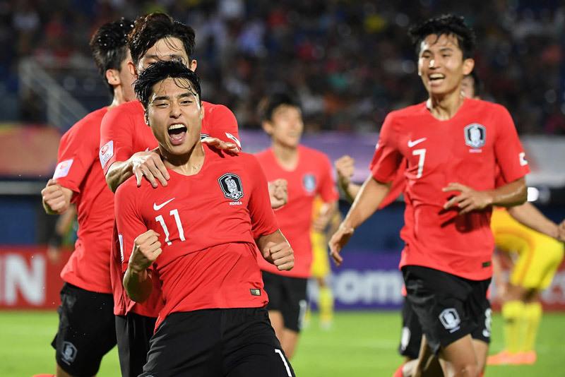 U23 Hàn Quốc,U23 Trung Quốc,U23 Hàn Quốc vs U23 Trung Quốc