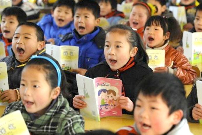 sách giáo khoa,Trung Quốc