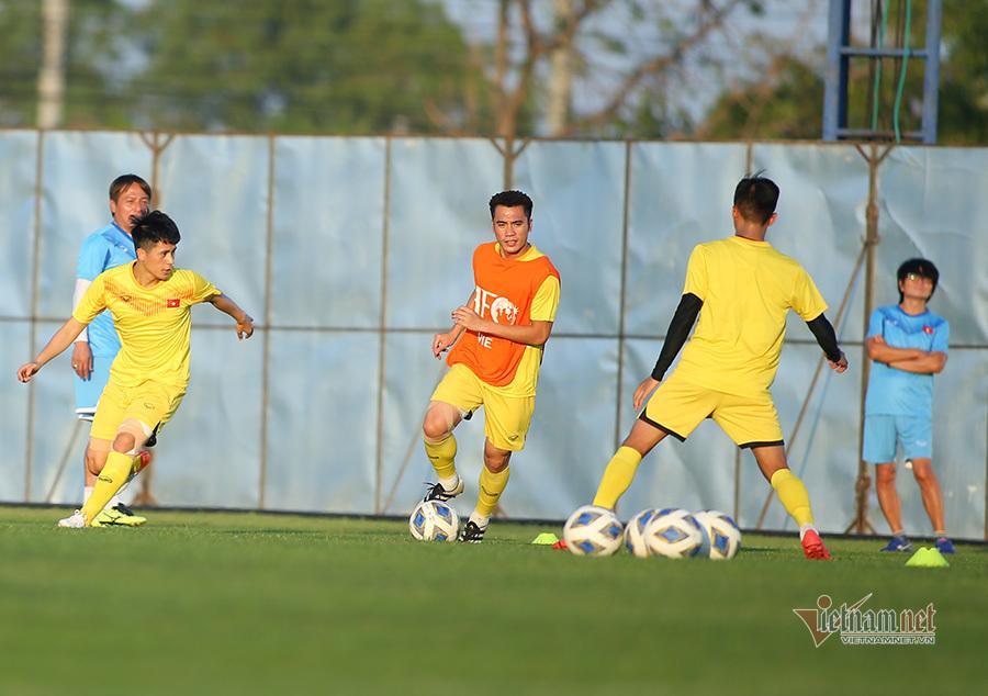 Đội hình ra sân U23 Việt Nam vs U23 UAE: Đình Trọng dự bị