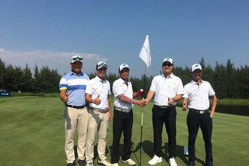 Hole in one 10 tỷ đồng về tay golfer Trần Huy Cương