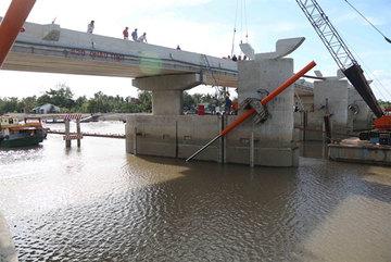 Saltwater intrusion enters Tra Vinh