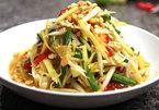 Khmer mixed papaya salad: specialty in An Giang