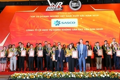 SASCO vào Top 50 Doanh nghiệp xuất sắc nhất Việt Nam năm 2019
