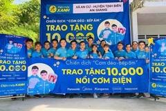 Điện máy Xanh trao 10.000 nồi cơm điện, nhận vạn nụ cười