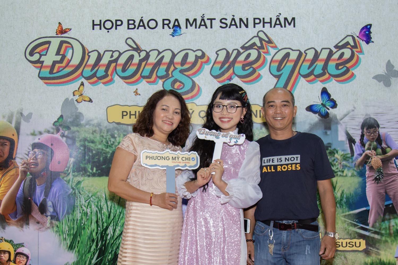 Phương Mỹ Chi,MV Đường về quê