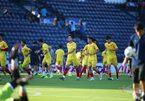U23 Việt Nam 0-0 U23 UAE: Tiến Dũng bắt chính (H1)