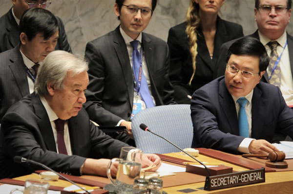 Vietnamese Deputy PM chairs open debate on observance of UN Charter