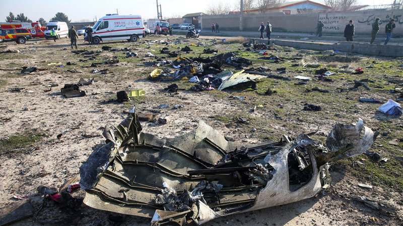 Iran công bố hình ảnh đầu tiên về hộp đen máy bay Ukraina