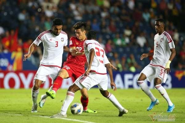 """HLV UAE: """"Thật khó ghi bàn vào lưới U23 Việt Nam"""""""