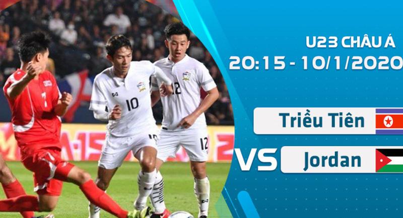 Link xem U23 Triều Tiên vs U23 Jordan, 20h15 ngày 10/1