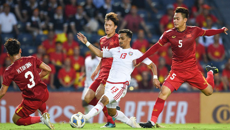 U23 Việt Nam,U23 UAE