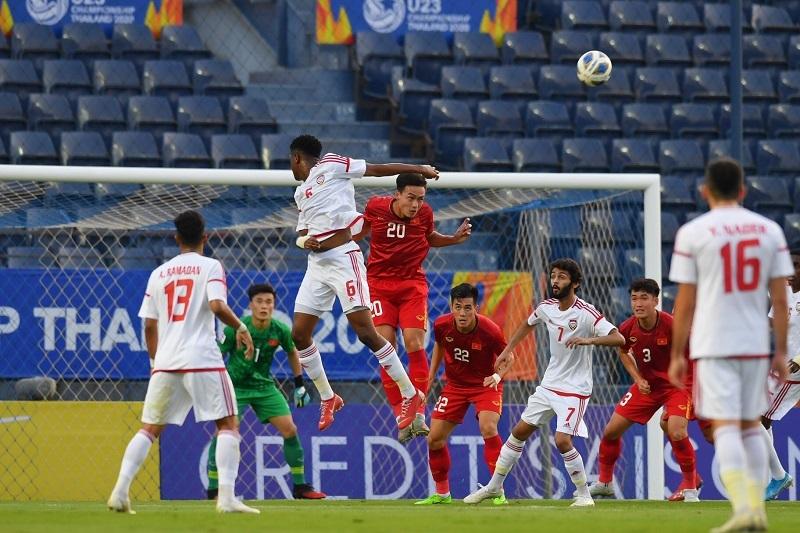 U23 Việt Nam,U23 UAE,truyền thông UAE,truyền thông quốc tế
