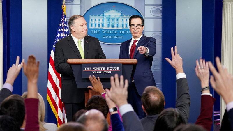 Mỹ thẳng tay ra đòn mới với Iran