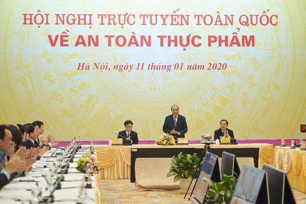 Thủ tướng chủ trì hội nghị toàn quốc về an toàn thực phẩm
