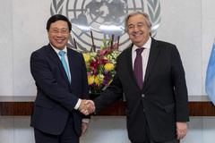 Lãnh đạo LHQ đánh giá cao vị thế quốc tế của Việt Nam