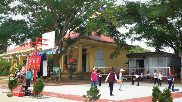 OMO mang đến sân chơi an toàn cho trẻ em nông thôn Việt Nam