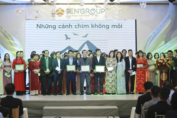 Sengroup Wellness Việt Nam vinh danh cá nhân, tập thể xuất sắc