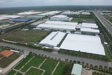 Support industry promotes development of industrial real estate