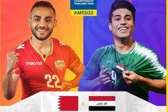 Link xem U23 Bahrain vs U23 Iraq, 17h15 ngày 11/1