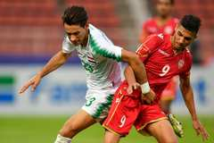 U23 Iraq cưa điểm với U23 Bahrain sau màn rượt đuổi kịch tính