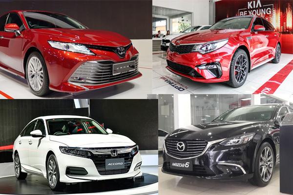 Sedan 1 tỷ : Toyota Camry vẫn độc tôn