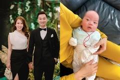 MC Thành Trung mua kiềng, dây bạc tặng đầy tháng con trai sinh đôi