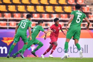 U23 Qatar hòa U23 Saudi Arabia sau trận cầu tẻ nhạt