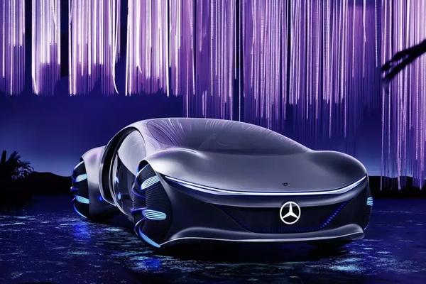Mercedes-Benz Vision AVTR – cỗ xe tương lai bước ra từ Avatar