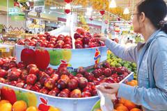 Người Việt chi gần trăm triệu USD ăn hoa quả Mỹ