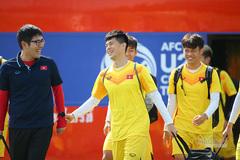 Đội hình ra sân U23 Việt Nam vs U23 Jordan: Đình Trọng, Đức Chinh dự bị