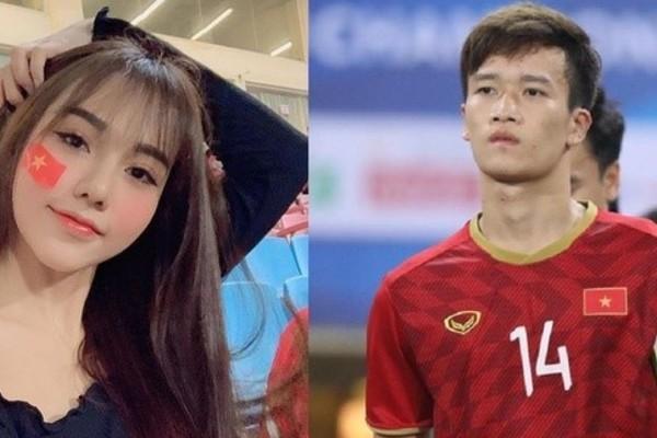 Bạn gái Hoàng Đức khoe ảnh sang Thái Lan cổ vũ U23 Việt Nam